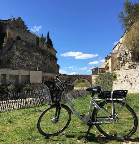 Sun-E-Bike of Vaison la Romaine